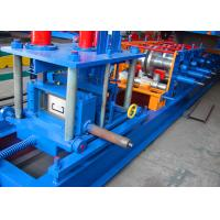 Wholesale Full Automatic Strip Steel C Purlin Roll Forming Machine For Roof Panel from china suppliers