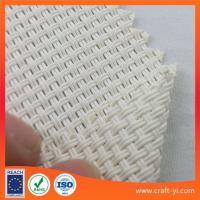 Wholesale White color Textilinene mesh fabric 2X2 wires woven style suit for outdoor sunshade or chairs from china suppliers