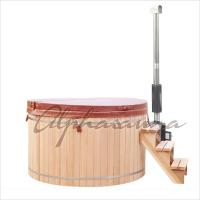 Wholesale Hand Made Wooden Barrel Northern Lights Cedar Hot Tubs 5 People Capacity from china suppliers