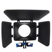 Wholesale Adjustable Plastic Camera Matte Box 15mm Rail Rod Video Matte Box from china suppliers