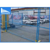 Buy cheap 1.8m Height 6 X 9ft Temporary Fence Panels Portable For Site Construction from wholesalers