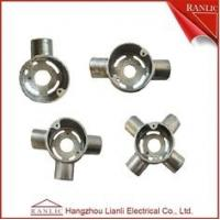 Buy cheap Intersection Extension Malleable Four Way Junction Box 20mm 25mm from wholesalers