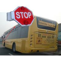Wholesale Led Flashing Traffic Sign for Arab school bus With Reflective Sheet Built-in Buzzer from china suppliers