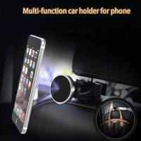 Wholesale ABS Universal Car Headrest Mount Holder , Tablets Pc Magnetic Phone Holder from china suppliers