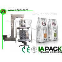Wholesale Stabilo Bag VFFS Packing Machine For Coffee Beans Quad Seal Stabilo Bagger from china suppliers