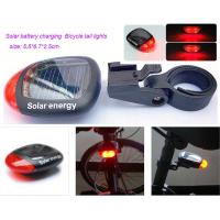 Wholesale Solar charging Bicycle tail lights from china suppliers