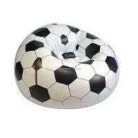 Wholesale Football shape inflatable lounge furniture , curved child sofas / seats from china suppliers