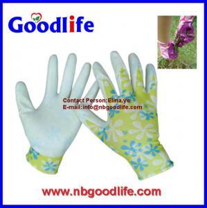 Wholesale Ningbo Goodlife safety 13 gauge nylon coated nitrile gloves from china suppliers
