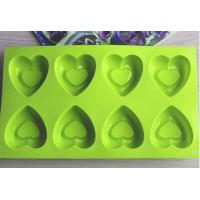 Wholesale Purple Color 8-Heart Shaped Silicone Baking Cake Mold With Custom Package from china suppliers