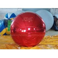 Wholesale Inflatable Christmas Decoration Balloons Personalised Red Mirror Ball from china suppliers