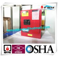 Wholesale Red Flammable Combustible Storage Cabinets Two Vents Single Door from china suppliers