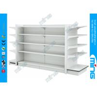 Wholesale Two Sided Retail Wall Display Shelves , Commercial Display Rack Stands from china suppliers