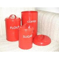Quality Set of 3 Cans, Coffee Can (SUN-023) for sale