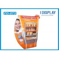 Quality Colorful Innovative Retail Cardboard Floor Displays Stand With UV Coating for sale