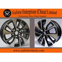 Wholesale Black Machine Face Toyota Aluminum Wheels For LEVIN 16inch 5 Hole from china suppliers