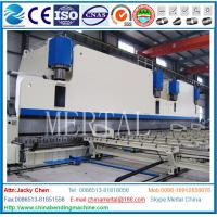 Wholesale MCL WC67Y 4000T large double linkage CNC plate bending machine, rolling machine from china suppliers