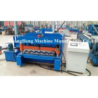 Wholesale 5.5kw + 4kw Glazed Tile Roll Forming Machine With 5 Ton capacity Hydraulic Decoiler from china suppliers