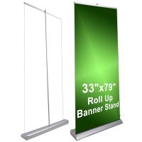 Wholesale Deluxe Pop Up Display Stands 6.5Kg Retractable Banner Displays from china suppliers