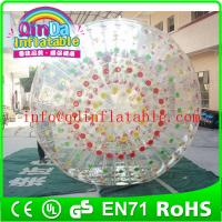 Wholesale QinDa Inflatable water rolling ball aqua zorb ball hamster playing ball from china suppliers