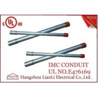 Wholesale White Thin Wall Steel IMC Electrical Conduit Galvanized 1-1/2 inch 1-1/4 inch from china suppliers