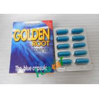 Wholesale Golden Root Complex Blue Capsule , Powerful Herbal Food Golden Root Supplement from china suppliers
