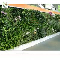 Wholesale UVG GRW07 Vertical Green Plant Walls Hanging Wall artificial plants decorative indoors from china suppliers