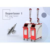 Quality Pain Free Q Switch Nd Yag Laser For Tattoo Removal With 1-8mm Adjustable Spot Size for sale