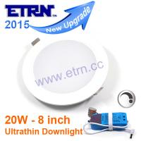 Wholesale Dimmable 8 inch 20W LED Downlight Ceiling Recessed Spotlight 110V 220V from china suppliers