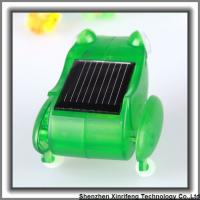 Quality Solar Toys Wholesale Small Solar Toy Power By Solar Energy Green Frog for sale