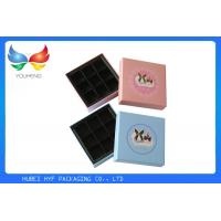 Wholesale Coated Paper Luxury Packaging Boxes , Empty Chocolate Gift Boxes Packaging from china suppliers