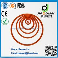 Wholesale Red NBR O-Ring with SGS RoHS FDA Certificates AS568 Standard (O-RINGS-0007) from china suppliers