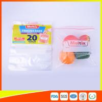 Wholesale Biodegradable Freezer ZipLock Plastic Bags For Supermarket / Household from china suppliers