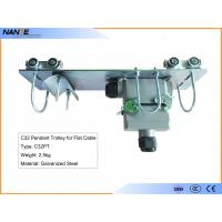 Wholesale C32PT Pendant Trolley For Flat Cable With Cable Gland Galvanized Steel Material from china suppliers