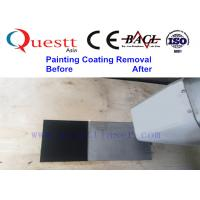Quality Painting Coating Rust Removal 50W IPG Laser Cleaning Machine With CE Certifice for sale