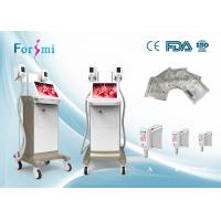 Wholesale CE approved 4 treatment handles cryo slimming cool tech fat quick freezing machine from china suppliers