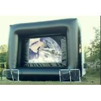 Wholesale Inflatable Outdoor Movie Screen Frame PVC Tarpaulin Inflatable Projection Screen from china suppliers