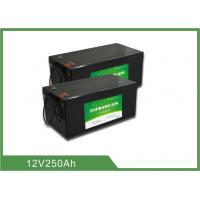 Wholesale Lightweight Lithium ion Rechargeable Marine Battery 12V 250AH 2 years Warranty from china suppliers