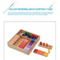 Buy cheap Tiger Montessori - Color Resemblance Sorting Task made of beech wood from wholesalers