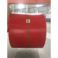 Buy cheap Galvalume Steel Sheet Prepainted Steel Coil Red Color For Corrugated Tile from wholesalers