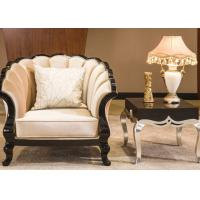 Classic Commercial Hotel Furniture Luxury Beige Fabric Sectional Sofa Set