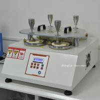 Wholesale ISO12945-2 Abrasion Testing Equipment Fabric Martindale Abrasion Resistance Pilling Tester from china suppliers