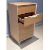 High quality hot sale modern design  vertical storage cabinet with 5 drawers,Popular walnut wooden cabinet