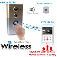 Wholesale HD 720p WiFi Wireless Video Visual Doorbell Night Vision Motion Detection And Theft Alarm from china suppliers