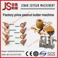 Wholesale 37kw Stainless Steel Peanut Butter Machine , Grain Processing Equipment from china suppliers