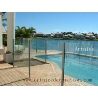 Wholesale Tempered / toughened glass for swimming pool fence, tempered / tougnened glass for swimming pool railing from china suppliers