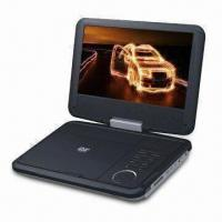 Wholesale Portable DVD Player with 9-inch TFT LCD, 270° Swivel Screen and 2 x 1.5W Stereo Audio Output from china suppliers