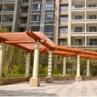 Wholesale Pergola, Composite Wood Material, Customized Dimension from china suppliers