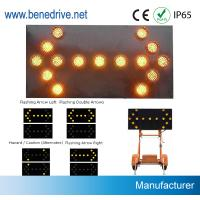 Wholesale Directional Traffic Arrow Boards 1000 Meter Visiable With 5 Dia 200mm LED Lights from china suppliers