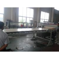Quality 4feet / 8feet PVC Foam Board Extrusion Line For Furniture / Construction Use for sale