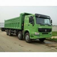 Wholesale Sinotruk Howo 8x4 Tipper, 336HP Engine, 7000x2300x1000 bulk size from china suppliers